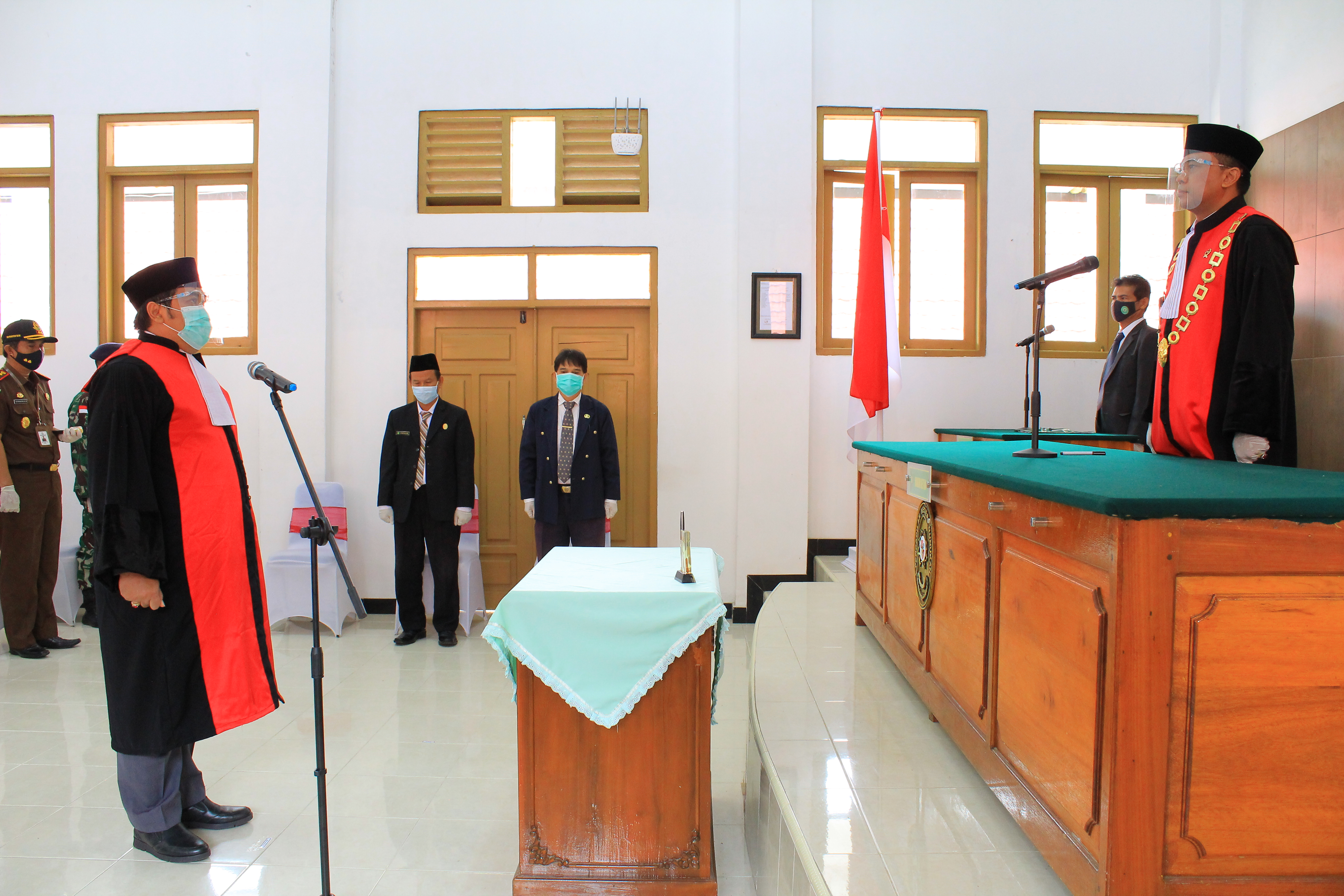 Pengambilan Sumpah Jabatan dan Pelantikan CAKIM menjadi Hakim Pengadilan Negeri Nunukan Kelas II